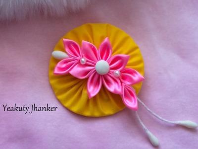 Tsumami Kanzashi flower
