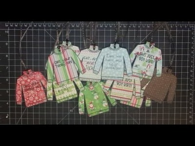 Ugly Sweater Weather Tags 2 and a Facebook Giveaway