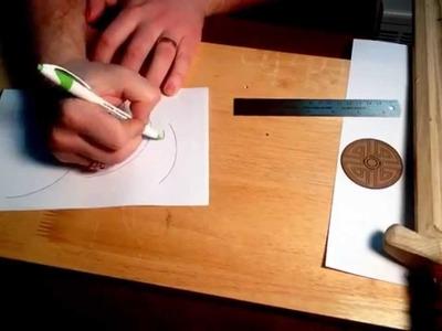 Viking Leatherwork Tutorial part 0: Drafting a basic pattern