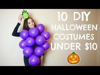 10 DIY LAST MINUTE HALLOWEEN COSTUMES UNDER $10