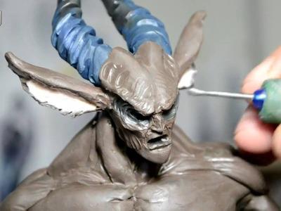 2.2 Snow Centaur (figure in Polymer clay)Part_02