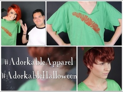 Adorkable DIY Halloween Series: Peter Pan!