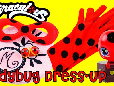 """""""Be Marinette and Ladybug"""" Dress Up Role Play Costume Set with Tikki Toy Review"""