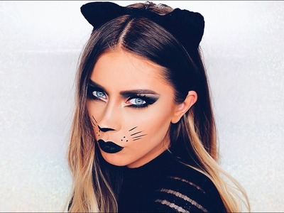 Cat Halloween Makeup Tutorial: Easy & Last Minute!