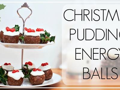 Christmas Pudding Energy Balls | Niomi Smart