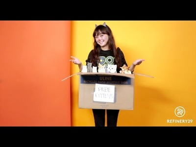 Creative Last-Minute Halloween Costumes | Halloween Hits | Connie Cam | Refinery29