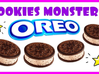 DIY Halloween Recipes: Halloween Cookies & Oreo cookies challenge! Halloween snacks for kids