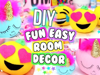 DIY ROOM DECOR 2016!