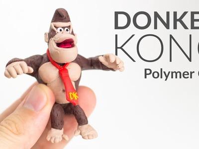 DONKEY KONG (DKC)– Polymer Clay Tutorial