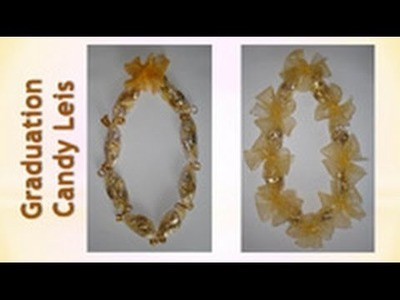 Graduation Gifts For Her or Him - Candy Leis