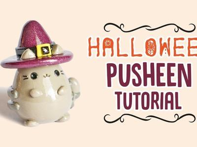 Halloween Pusheen Polymer Clay Tutorial