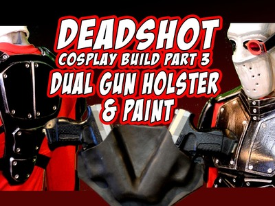How to make Deadshot Suicide Squad Cosplay Costume part 3
