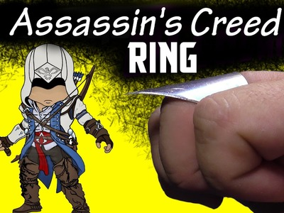 ✔ How to make the assassin ring for self-defense. It`s an elegant weapon of Assassin's Creed