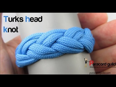 How to tie a turk's head knot- the woggle