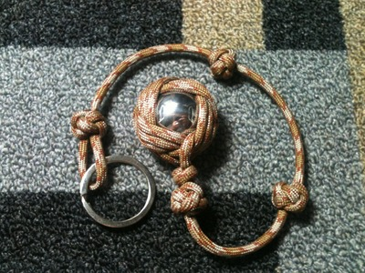 How to Tie The Celtic Slammer Paracord Self-Defense Key Chain