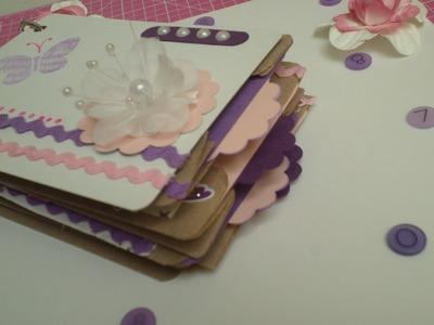 Mini album con bolsas de papel