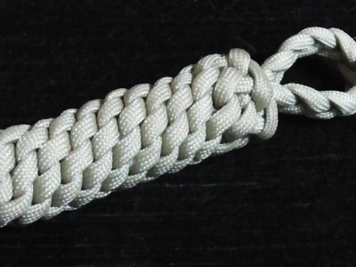 Nautical Knots- How To Tie A Boat Fender Keychain With Paracord