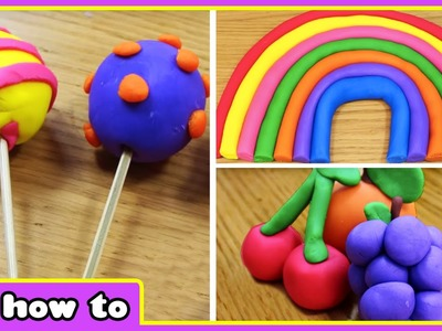 Play Doh Rainbow | Learn Colors With Play Doh | Play Doh Videos by HooplaKidz How To