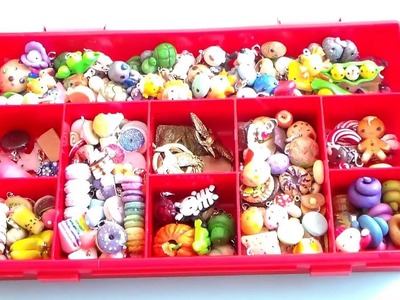 Polymer Clay Charm Collection 2016