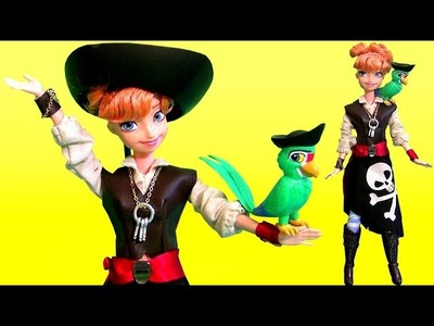 Princess Anna Dress Up as Pirate Pearl Halloween Costume 2015 Disney Attractionistas Doll