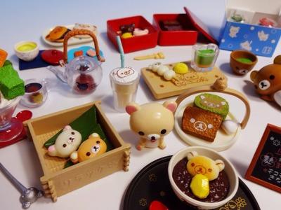Re-ment collection #5 - Rilakkuma Mattari Japanese Cafe リラックマまったり和カフェ