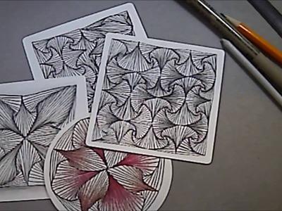 Rick's Paradox Tangle Pattern Lesson #54