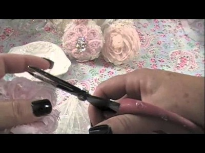 Shabby Chic Ornament#1 Tutorial
