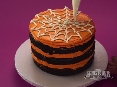 Spider Cake | Halloween Cakes | Disney Channel