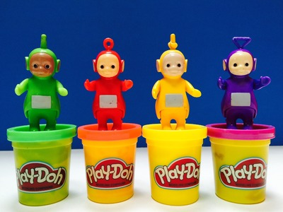 Teletubbies Play-Doh Halloween Costumes Game