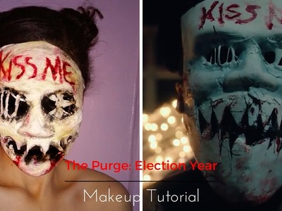 The Purge: Election Year Makeup Tutorial