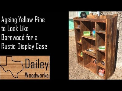 Using Steel Wool and Vinegar to Age Wood for Rustic Book Shelf DIY Barnwood