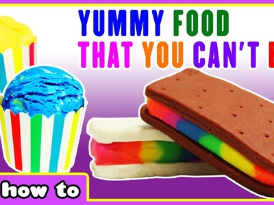 Yummy Play Doh Ice Cream That You Can't Eat by HooplaKidz How To
