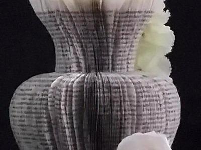 Book folding - Part 1 - vase 1
