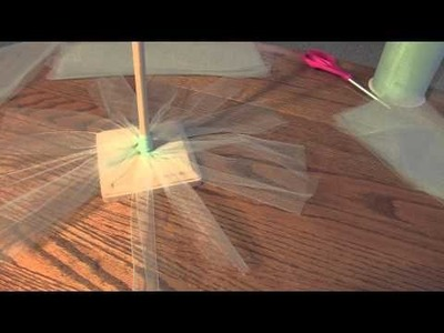 DIY Holiday Room Decorations -  Winter Home Decor - Tulle Christmas Tree & More!