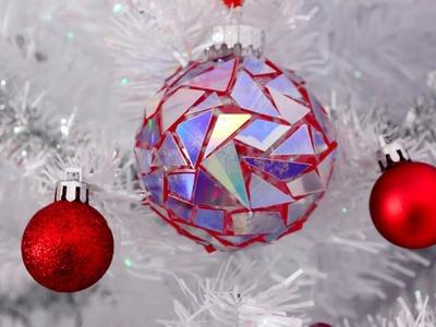 DIY Hologram Ornament ❄ EASY