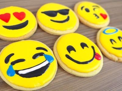 How To Make Emoji Cookie Biscuits   CarlyToffle