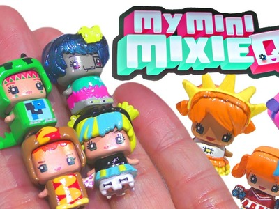 My Mini Mixie Q's Series 1 Blind Boxes * Mix n' Match Toy Surprise Cubes by DCTC
