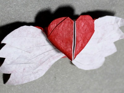 Origami Winged Heart 4.0 tutorial - DIY (Henry Phạm)