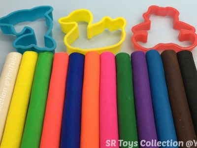 Play & Learn Colours with Play Dough Fun and Creative for Children and Kids