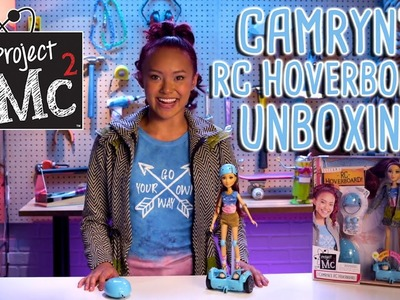 Project Mc²   Camryn Coyle's RC Hoverboard + Doll   Cast Unboxing: Ysa Penarejo