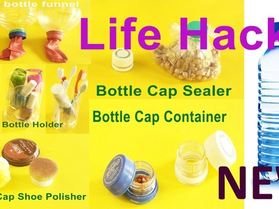 Recycle: 6 New Most Useful Plastic Bottle Life Hacks In Daily Life For All