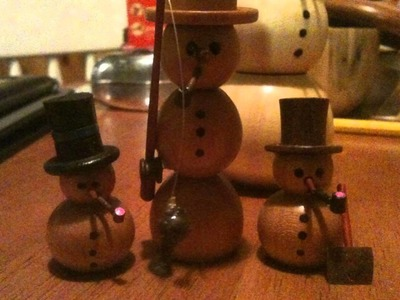 Wood turning acorns and onrnaments