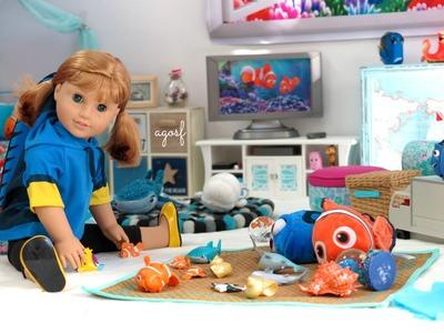 American Girl Doll Finding Dory Room