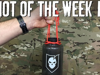 Carry Your Drinks Using a Bottle Sling - ITS Knot of the Week HD