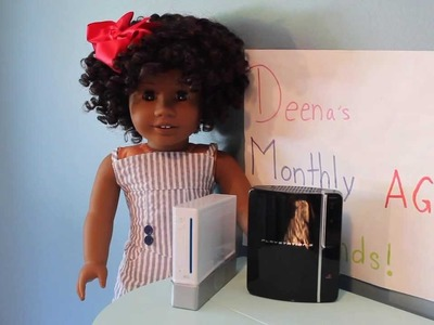Deena's Monthly American Girl Doll Sized Items Finds!