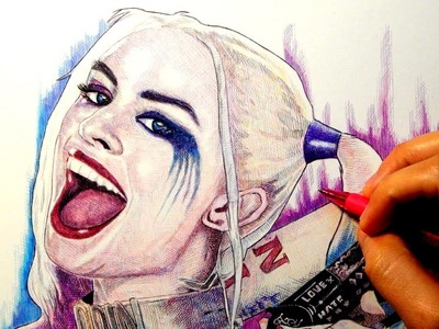 HARLEY QUINN: SUICIDE SQUAD DRAWING