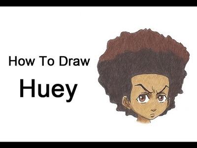 How to Draw Huey Freeman (The Boondocks)
