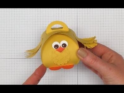 How to make a Cute Easter Chick using the Stampin' Up! UK Curvy Keepsake Box Die