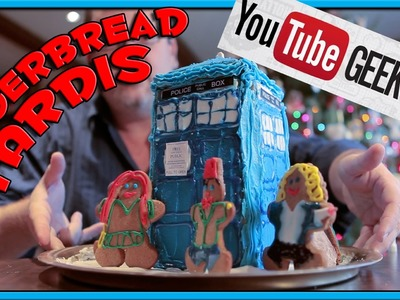 How to make a Gingerbread TARDIS