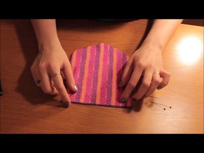 How to Sew. Make a Dog Collar Bandana   FREE Pattern Easy Beginners Sewing Tutorial   Twizzlez